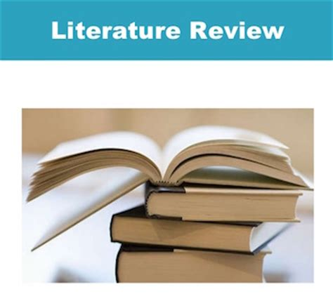 Literature review for project